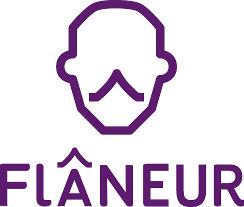 Logo Stowarzyszenie Badawczo-Animacyjne Flaneur